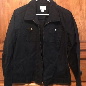 Christopher and Banks zippered jacket